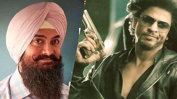 शाहरुख और आमिर के बीच होगी टक्कर, पठान और लाल सिंह चड्ढा होगी एक साथ क्रिसमस 2021 पर रिलीज