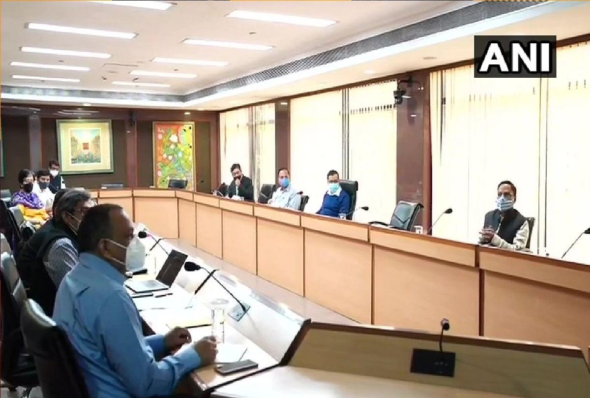 दिल्ली में कोरोना पर नियंत्रण को लेकर हुई सर्वदलीय बैठक:  मास्क नहीं पहनने पर लगेगा 2000 का जुर्माना