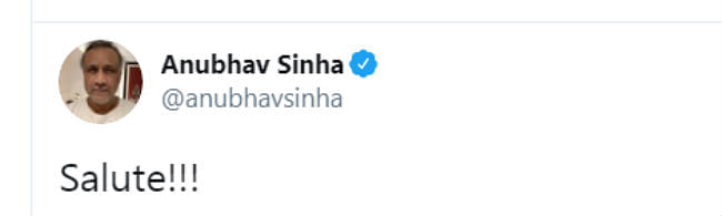 anubhav sinha tweet