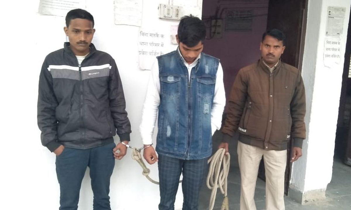 स्कॉट सर्विस के नाम पर ठगी करने वाले बरकट्ठा के 2 साइबर क्रिमिनल को पुलिस ने किया गिरफ्तार, गया जेल