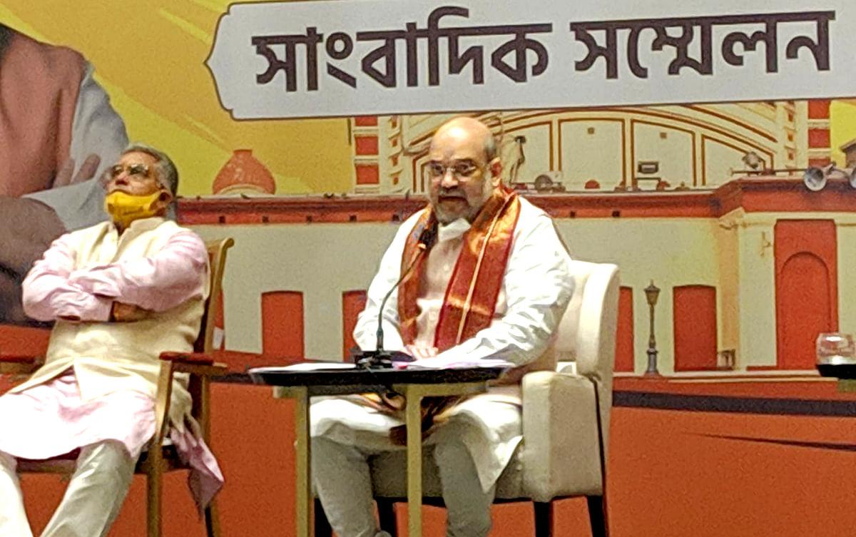 VIDEO: ममता राज में बंगाल में राजनीति का अपराधीकरण हुआ, भ्रष्टाचार को संस्थान बना दिया, कोलकाता में बोले अमित शाह
