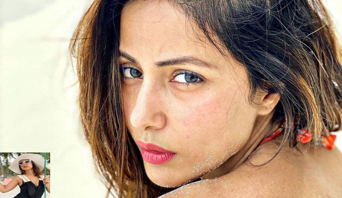 हिना खान के Beach Photoshoot देखकर फैंस के उड़े होश, बोले कमबैक . . .. . .
