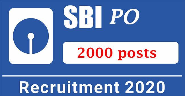 Sarkari Naukri, SBI PO Recruitment 2020: स्टेट बैंक ऑफ इंडिया कर रहा है 2,000 पीओ पदों के लिए बंपर बहाली, जानें पूरी डिटेल