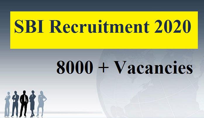 Sarkari Naukri, SBI Recruitment 2020 : स्टेट बैंक ऑफ इंडिया कर रहा है 8,500 पदों के लिए बंपर नियुक्ति, यहां देखें पूरी डिटेल