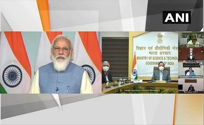 Corona के खिलाफ जंग में भारतीय वैज्ञानिकों ने हमें बेहतर स्थिति में रखा, विज्ञान महोत्सव में बोले PM मोदी