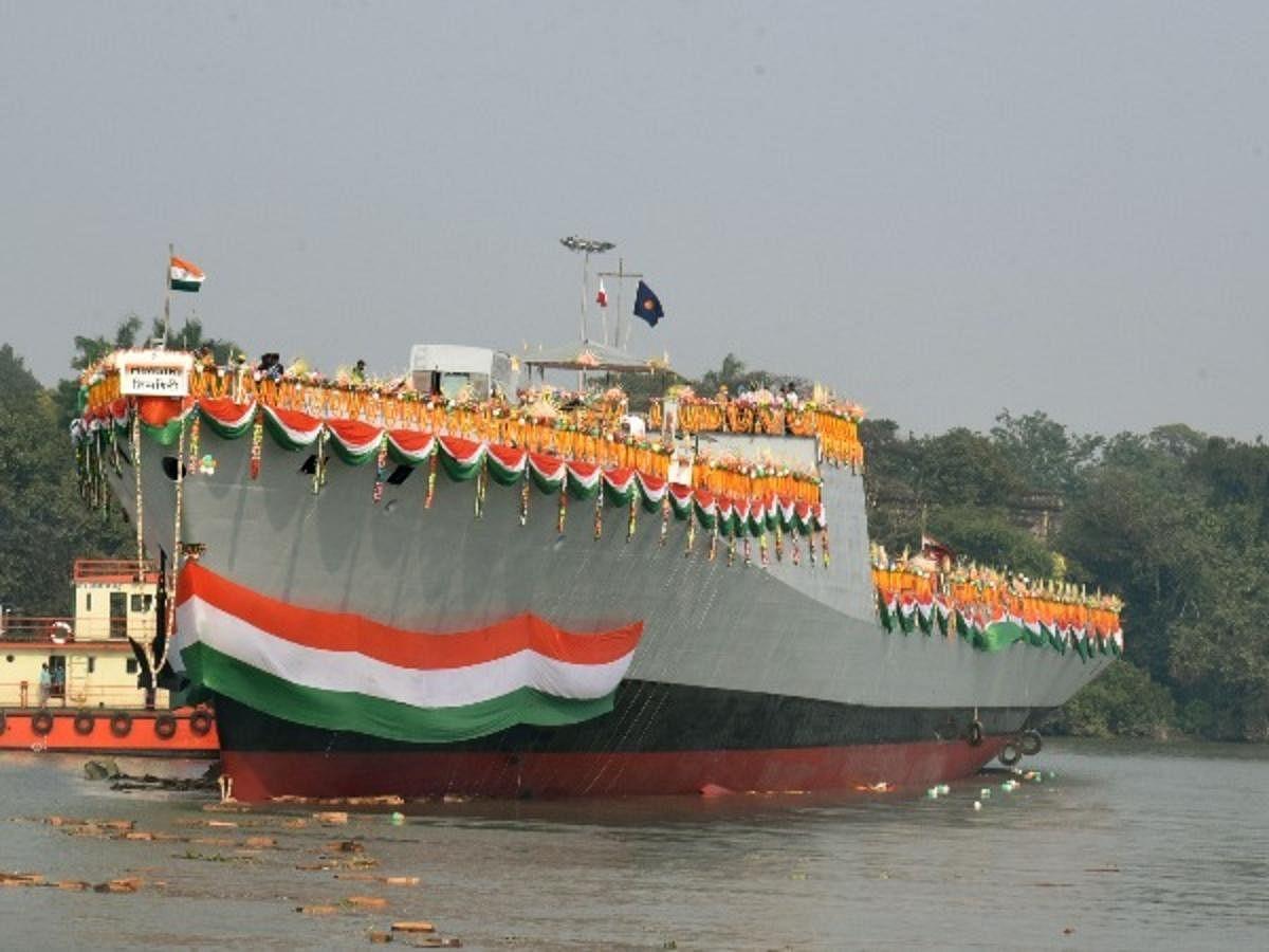 भारतीय नौसेना में शामिल स्वदेशी युद्धपोत हिमगिरि का बोकारो स्टील प्लांट से क्या है कनेक्शन, पढ़िए ये रिपोर्ट