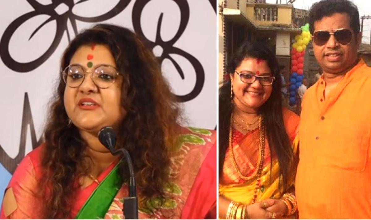 तृणमूल में शामिल हुईं पत्नी सुजाता, तो प्रेस कॉन्फ्रेंस में फूट-फूटकर रोये भाजपा सांसद सौमित्र खान