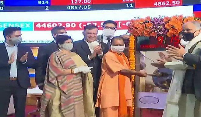 मुंबई से बढ़ेगी UP में विकास की रफ्तार, उत्तर भारत के पहले लखनऊ नगर निगम बॉन्ड ने जुटाये 200 करोड़
