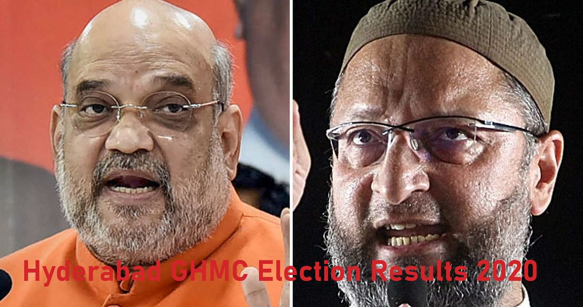 Hyderabad GHMC Election Results 2020 Live Updates : हैदराबाद चुनाव में BJP-TRS के बीच टक्कर, कांग्रेस और AIMIM का हाल जानें