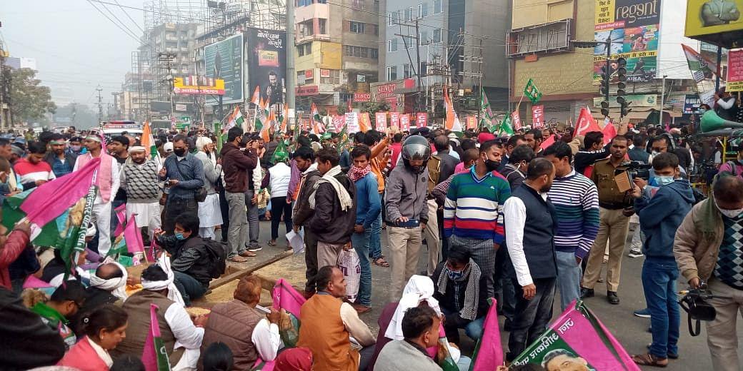 Bharat Bandh In Bihar : जदयू-भाजपा ने विपक्षी दलों के भारत बंद को बताया फ्लॉप शो