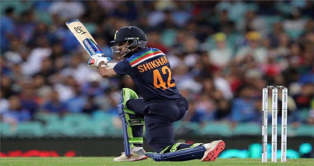 IND vs AUS : धवन ने टी20 में तोड़ा धौनी का रिकॉर्ड, सबसे अधिक रन बनाने वाले तीसरे भारतीय बने