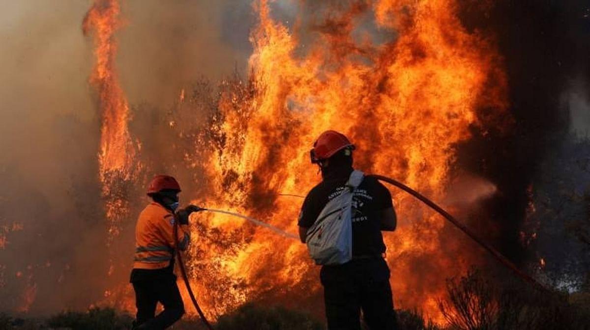 राजभवन में आग, फोरेंसिक टीम ने लिया जायजा, शाॅर्ट सर्किट से हादसे का अनुमान