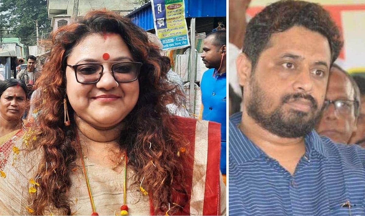 भाजपा सांसद सौमित्र खान को रुलाकर तृणमूल में शामिल हुईं सुजाता मंडल, बोलीं, रोमांचित और धन्य हूं
