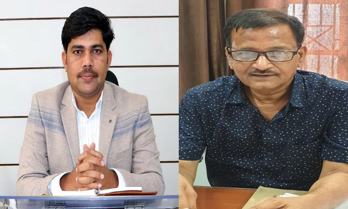 Jharkhand news : झुमरीतिलैया नगर पर्षद के बेस्ट परफॉर्मिंग म्यूनिसिपल बनने पर कोडरमा डीसी रमेश घोलप और नगर प्रशासक कौशलेस कुमार ने दी बधाई.