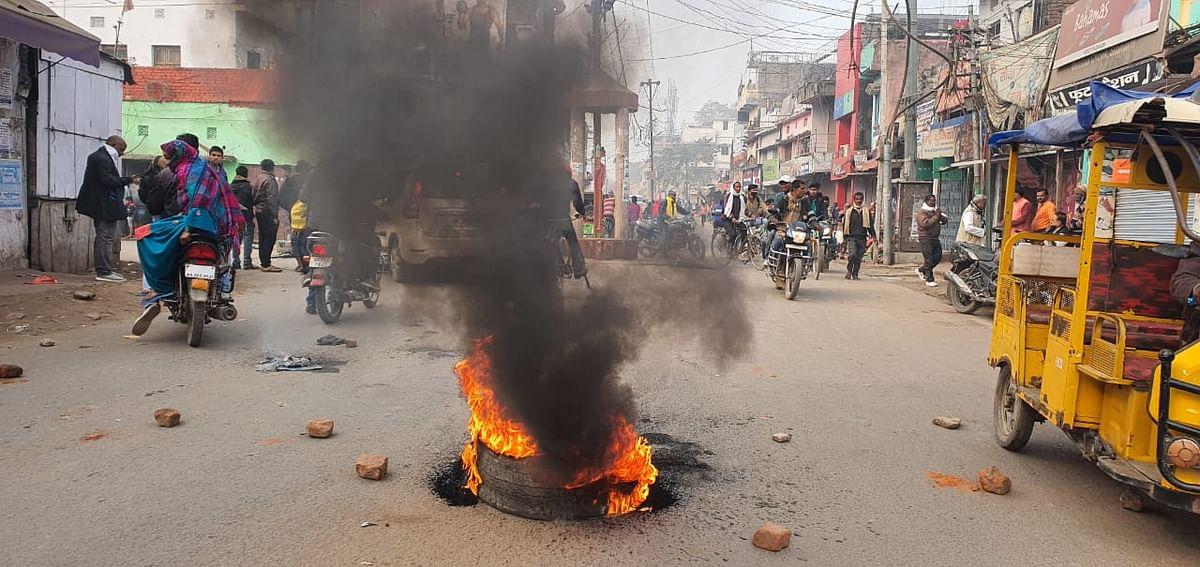 Bharat Bandh In UP : यूपी में विपक्षी नेताओं को पुलिस ने किया नजरबंद तो बिफरे प्रियंका-अखिलेश, सीएम योगी ने भी चेताया