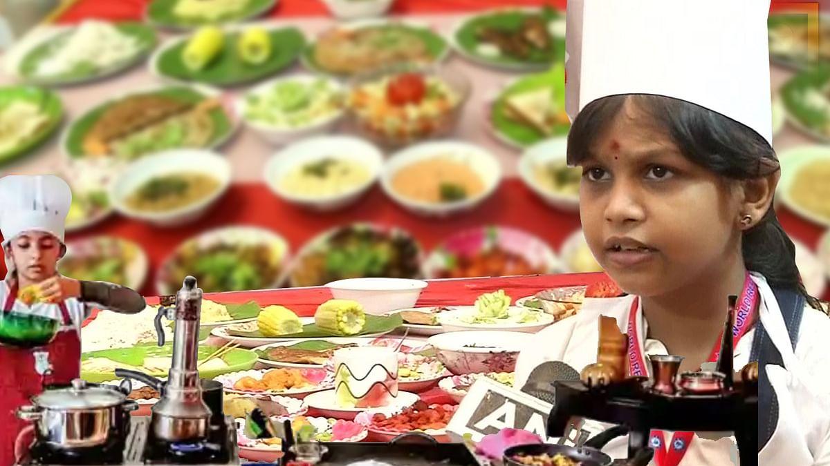 तमिलनाडु की इस बच्ची के नाम 58 मिनट में 46 व्यंजन बनाने का वर्ल्ड रिकॉर्ड, इससे पहले केरल की 10 वर्षीय बच्ची के नाम था रिकॉर्ड