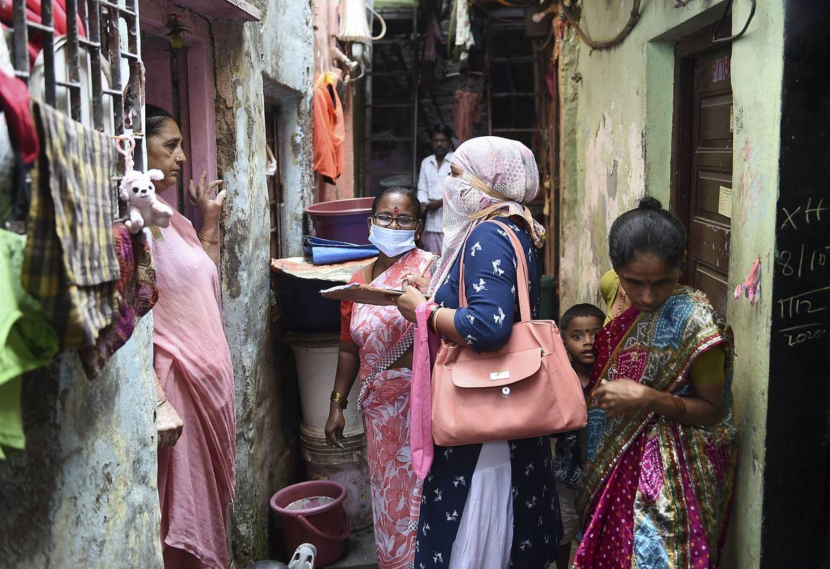 मुंबई में दिखा हेल्थ वर्कर्स का जज्बा