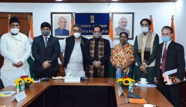 जम्मू-कश्मीर व लेह-कारगिल में पहली बार होगा वक्फ बोर्ड का गठन, अनुच्छेद 370 हटने से संभव हुई प्रक्रिया : मुख्तार अब्बास नकवी