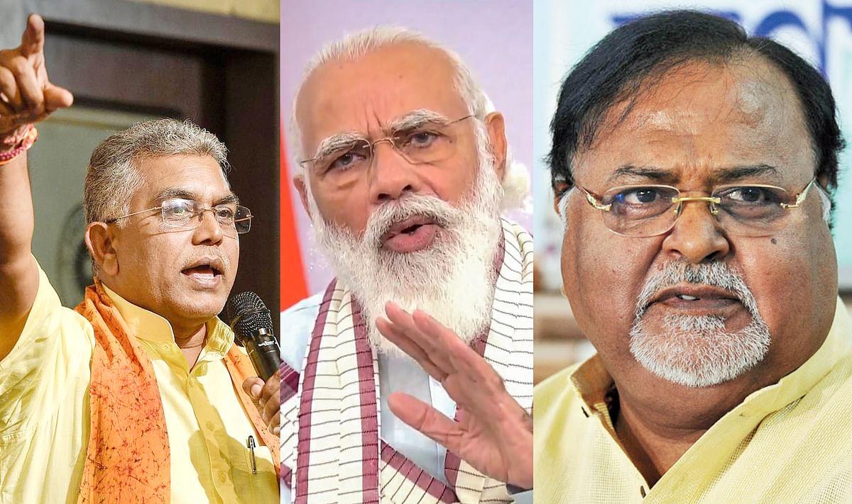 दिलीप ने बढ़ायी ममता की टेंशन, बोले, हर महीने बंगाल आयेंगे मोदी, भड़के TMC नेता पार्थ चटर्जी बोले, उसके पास कोई काम नहीं