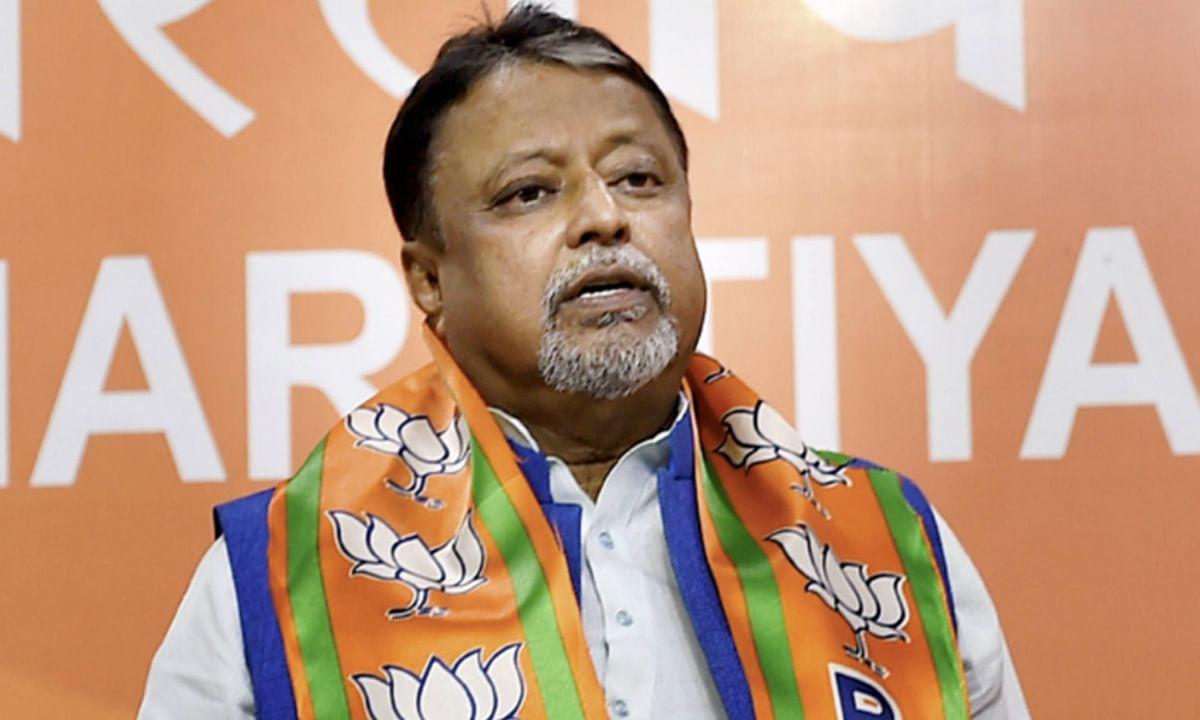तृणमूल विधायक हत्या मामले में CID के चार्जशीट में मुकुल राॅय का आया नाम, बीजेपी ने बतायी राजनीतिक साजिश