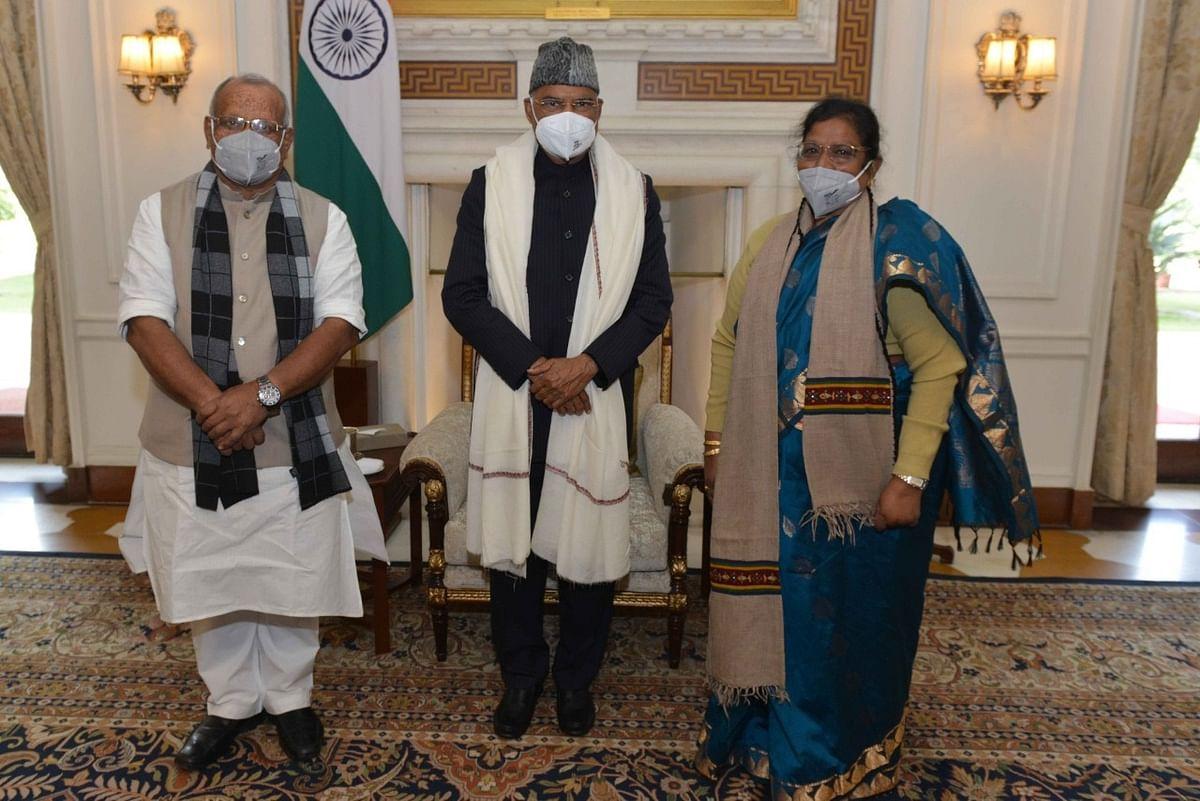 दिल्ली पहुंचे बिहार के दोनों उपमुख्यमंत्री, राष्ट्रपति से की मुलाकात, कल PM Modi से मिलेंगे