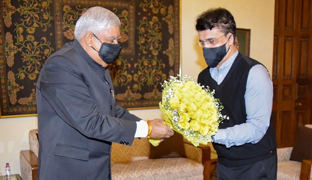 भाजपा में सौरभ गांगुली! कोलकाता में राज्यपाल धनखड़ से मुलाकात के बाद दिल्ली में आज अमित शाह से मिलेंगे