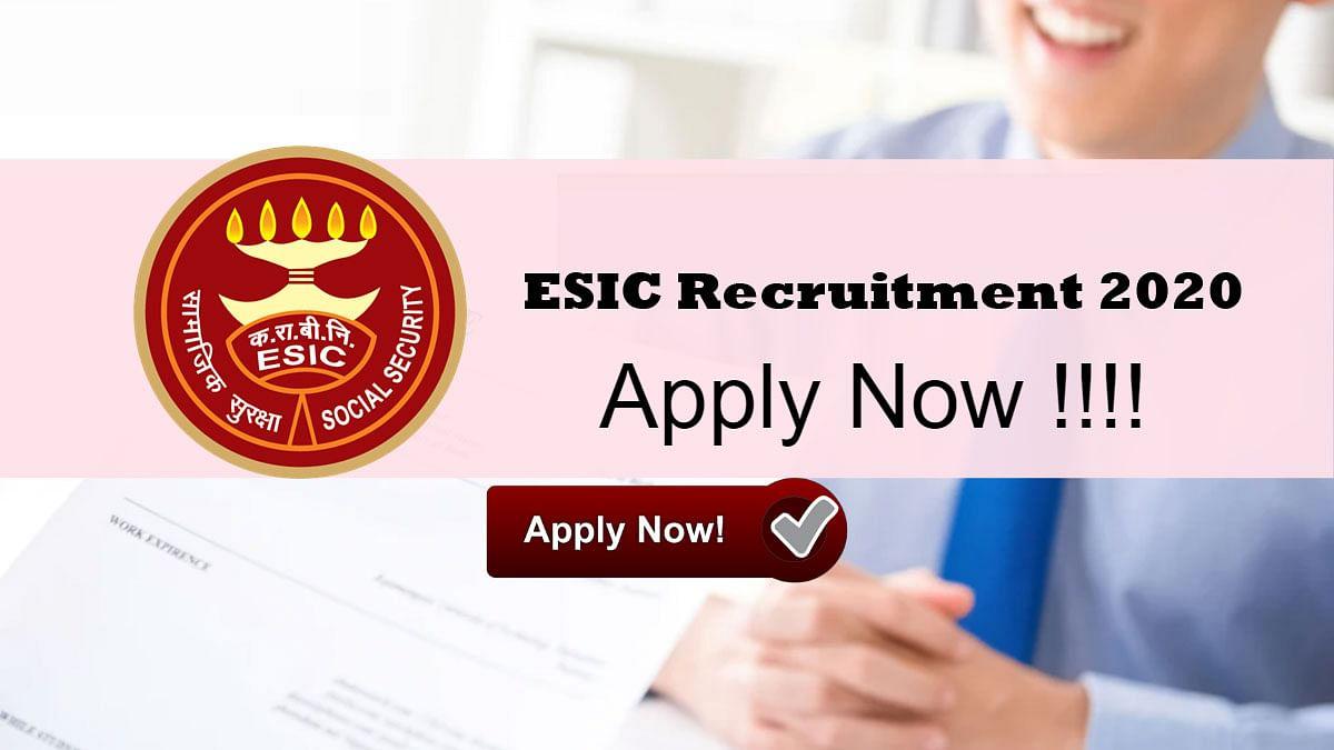 Sarkari Naukri, ESIC Recruitment 2020: सिर्फ इंटरव्यू के जरिए होने वाला है इन पदों के लिए चयन, जाने उम्र सीमा, सैलरी की पूरी डिटेल