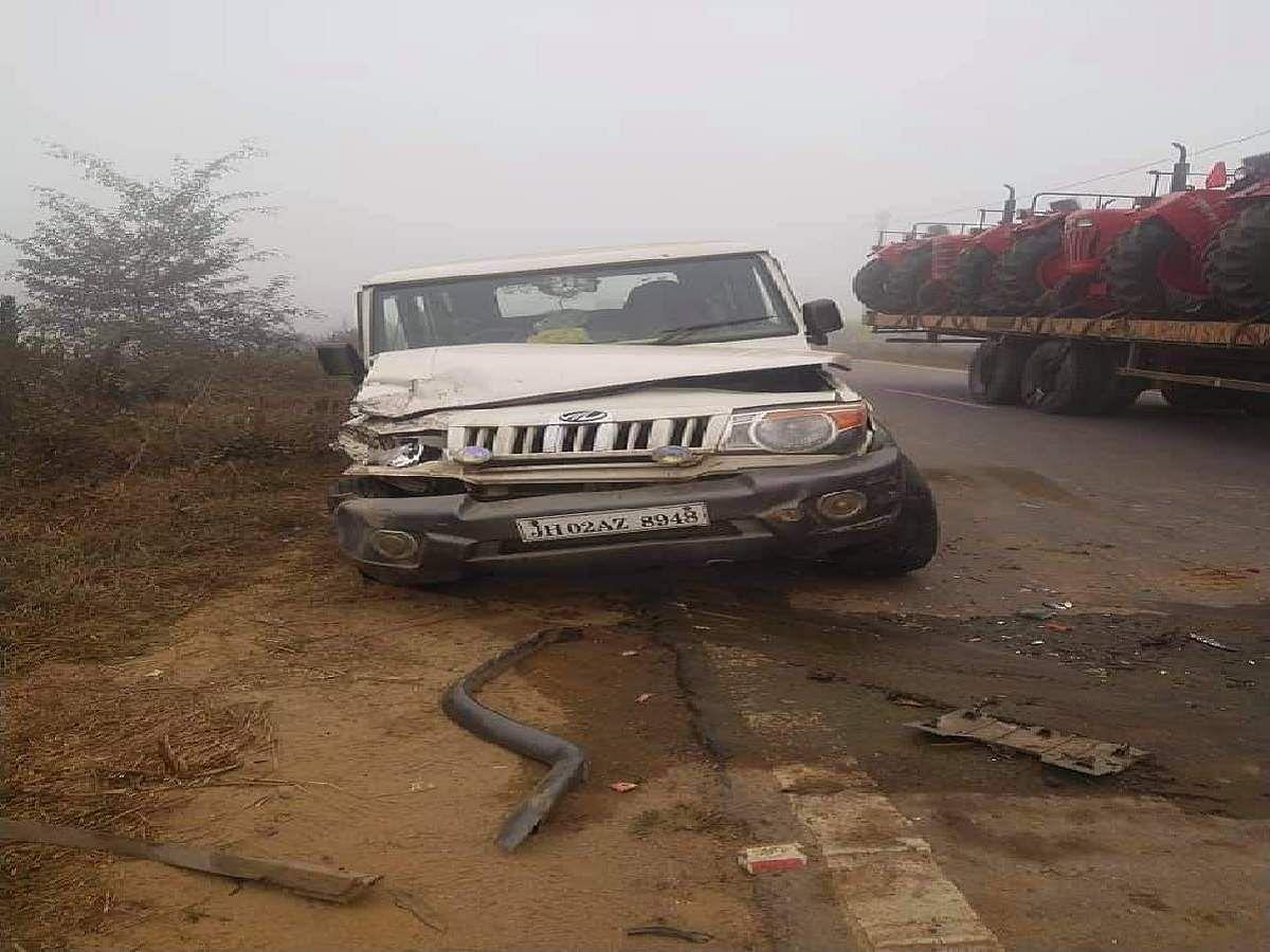 ट्रक से हुई बोलेरो की टक्कर में सोनपुर थाने के  दारोगा की मौत, बेटी को परीक्षा दिलाने जा रहे थे पटना, भतीजे की बारात टली