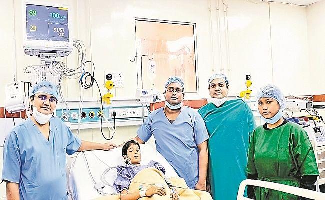 पटना IGMS अस्पताल में 10 वर्ष की बच्ची के पित्त की थैली के कैंसर का हुआ सफल ऑपरेशन, सर्जरी पर होगा रिसर्च