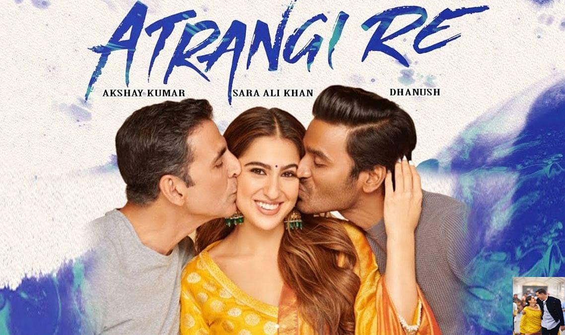 Atrangi Re की शूटिंग हुई शुरु, एक दूसरे के बाहों में बाहें डाले दिखें अक्षय कुमार और सारा आली खान
