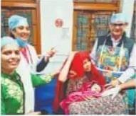 बिहार में 25 वर्ष बाद आयुर्वेदिक कॉलेज के अस्पताल में कराया गया प्रसव