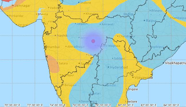 महाराष्ट्र में आधी रात को महसूस किये गये भूकंप के झटके, देश में अब तक जनवरी माह में आये 20 भूकंप के झटके