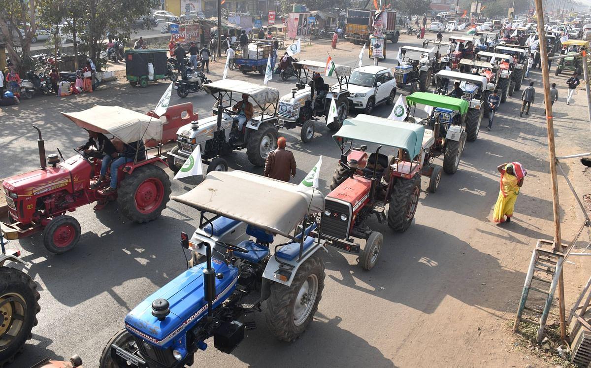 kisan andolan update : आज दो लाख ट्रैक्टरों के साथ रैली का दावा, बजट के दिन संसद मार्च