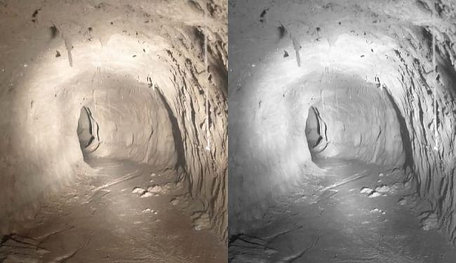 BSF ने कठुआ में अंतरराष्ट्रीय सीमा पर 150 मीटर लंबी और 30 फीट गहरी सुरंग का पता लगाया