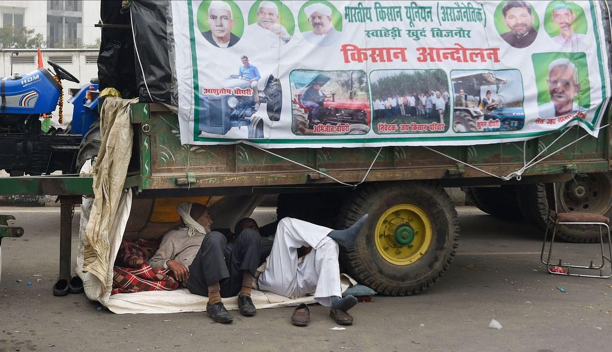 किसान आंदोलन की वो तस्वीर जो आपको कर देगी भावुक