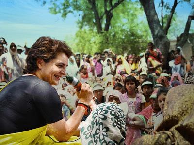 पंचायत चुनाव के पहले कांग्रेस सक्रिय, ऐसे प्रियंका गांधी पहुंच रहीं हैं गांव-गांव