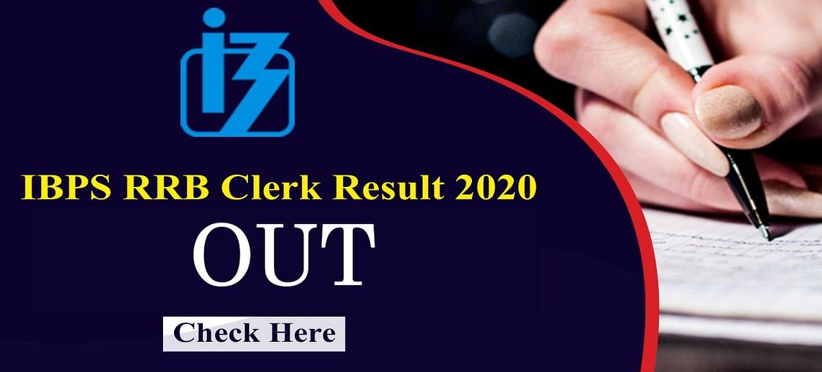 IBPS RRB Clerk Result 2020 Out: आईबीपीएस ने जारी किया ग्रामीण बैंक क्लर्क की प्रीलिमिनरी परीक्षा का रिजल्ट, ऐसे देख सकते हैं अपना परिणाम