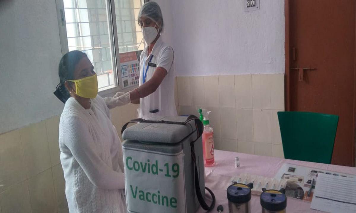 Coronavirus Vaccine News : झारखंड के शहरी व ग्रामीण क्षेत्रों में चला कोरोना टीकाकरण का ड्राई रन, कोविन एप के तहत होगा रजिस्ट्रेशन