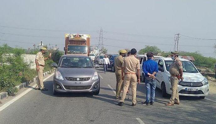 किसानों के प्रदर्शन को लेकर दिल्ली आनेवाली आठ सीमाएं बंद, वैकल्पिक मार्ग से आने का दिल्ली ट्रैफिक पुलिस ने दिया सुझाव