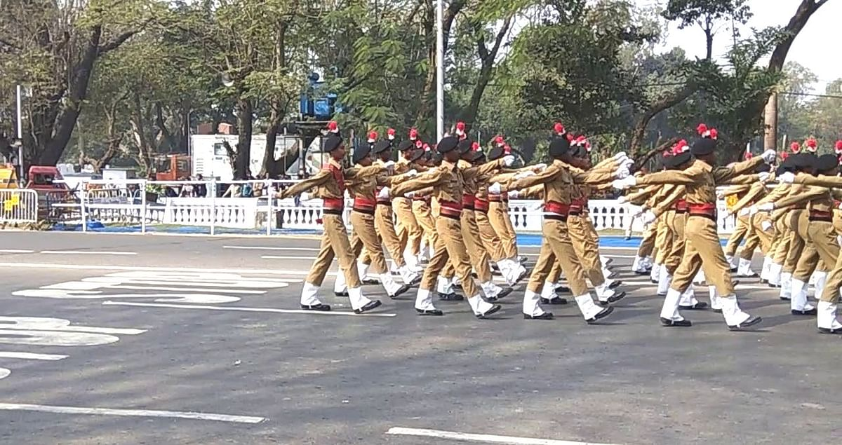 गणतंत्र दिवस परेड नहीं देख पायेंगे बंगाल के लोग, कोरोना की वजह से दर्शकों को आने की अनुमति नहीं
