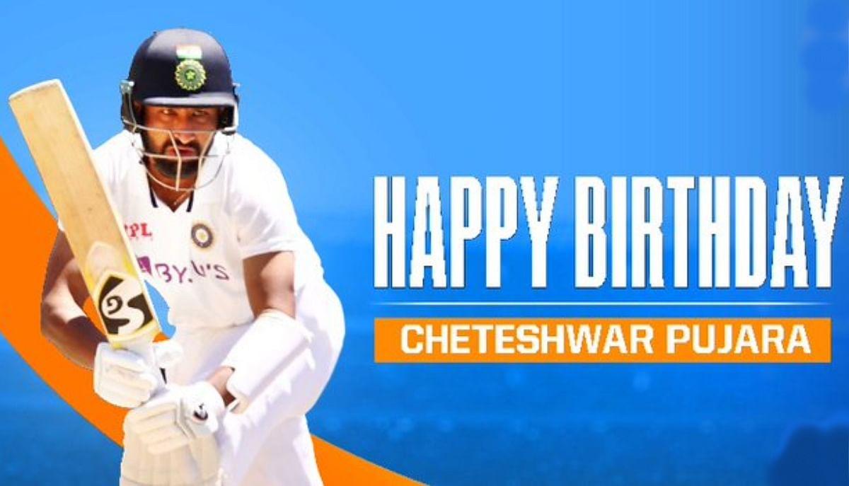 Happy Birthday चेतेश्वर पुजारा यानी टेस्ट मैच का किंग, गावस्कर-द्रविड़ से क्यों की जाती है तुलना
