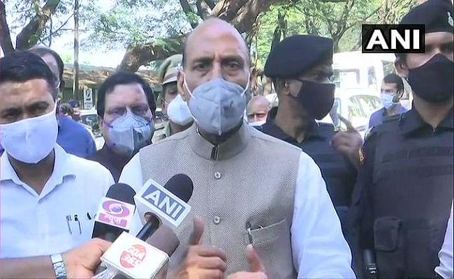 Shripad Naik Health Update : श्रीपद नाइक से मिलने के बाद बोले राजनाथ सिंह, फिलहाल खतरे से बाहर