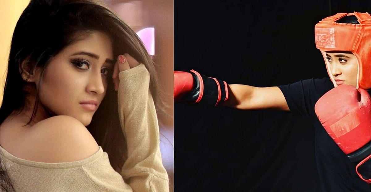 Shivangi Joshi ने बॉक्सर के रुप में फैंस का धड़काया दिल