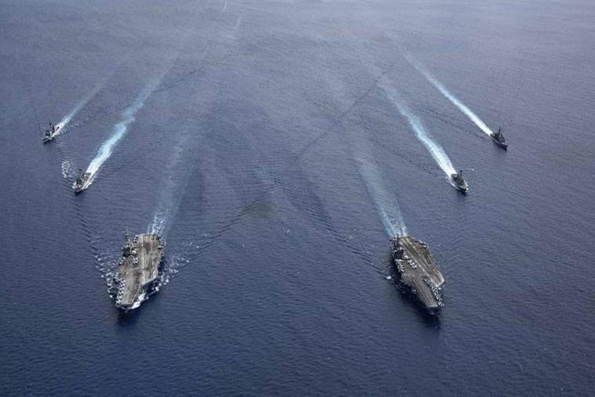 ताइवान पर फिर दबाव बना रहा चीन, सबक सिखाने के लिए अमेरिका ने तैनात किये युद्धपोत