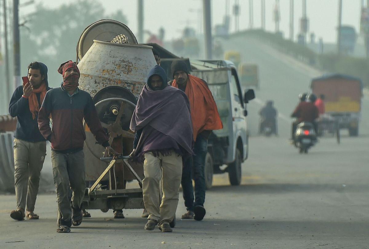 दिल्ली में सितमगर सर्दी