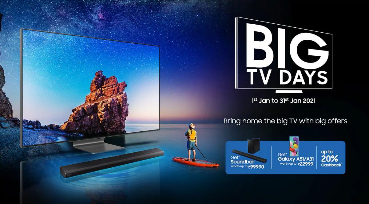 Samsung लाया कमाल का ऑफर, TV की खरीद पर Smartphone Free, ऐसे पाएं बेस्ट डील्स