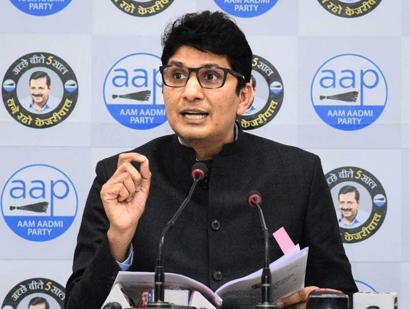 दक्षिणी एमसीडी में सड़क किनारे दुकान-फूड कोर्ट का लाइसेंस देना भाजपा का भ्रष्टाचार का स्कीम : AAP