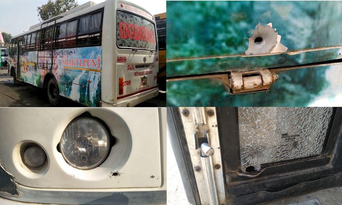 नक्सल प्रभावित टेबो घाटी में लूटपाट से बचे यात्री, गुस्साये नक्सलियों ने की फायरिंग
