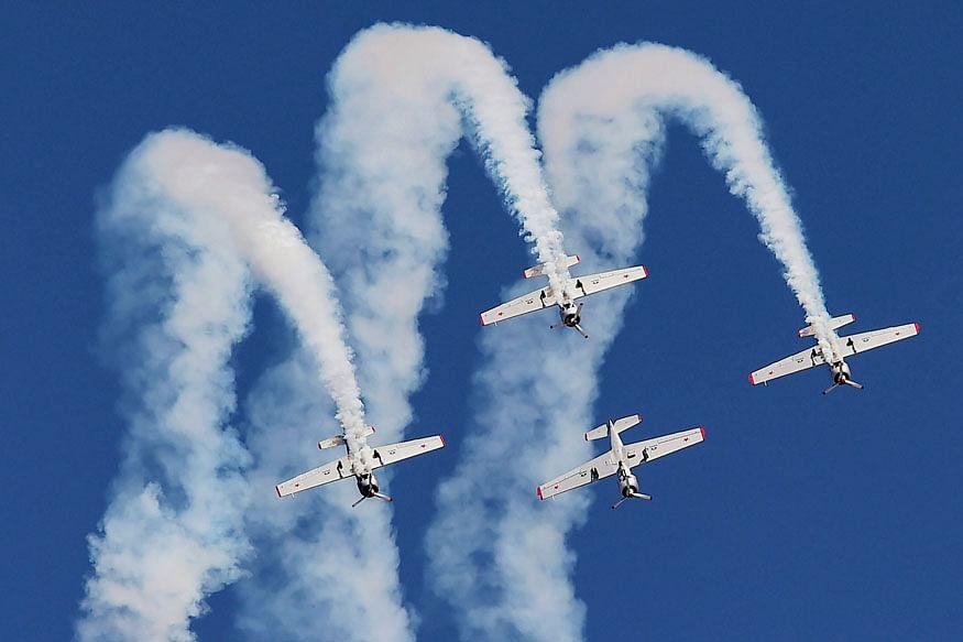 एयरो शो में Indian Airforce का पराक्रम देखने के लिए देना होगा कोरोना का निगेटिव रिपोर्ट