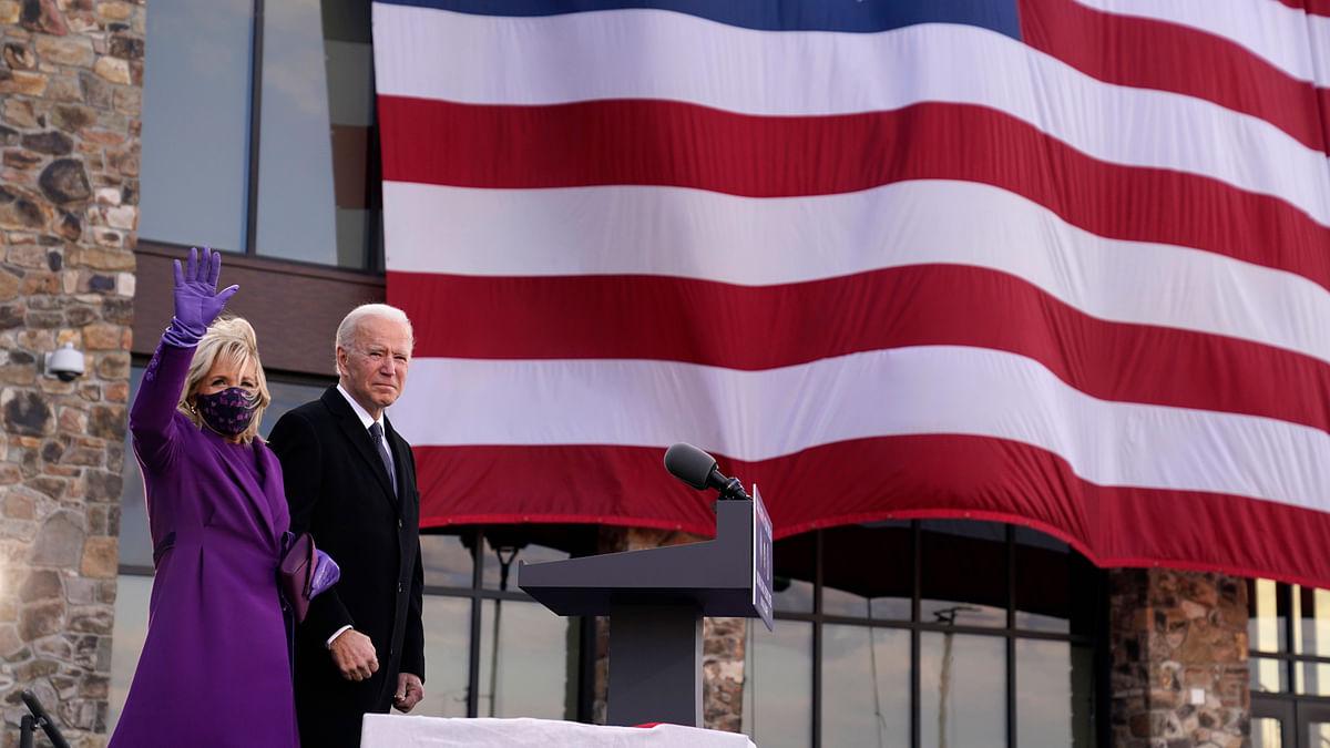जो बाइडेन बने अमेरिका के 46वें राष्ट्रपति, जश्न में पहुंचे खास मेहमान